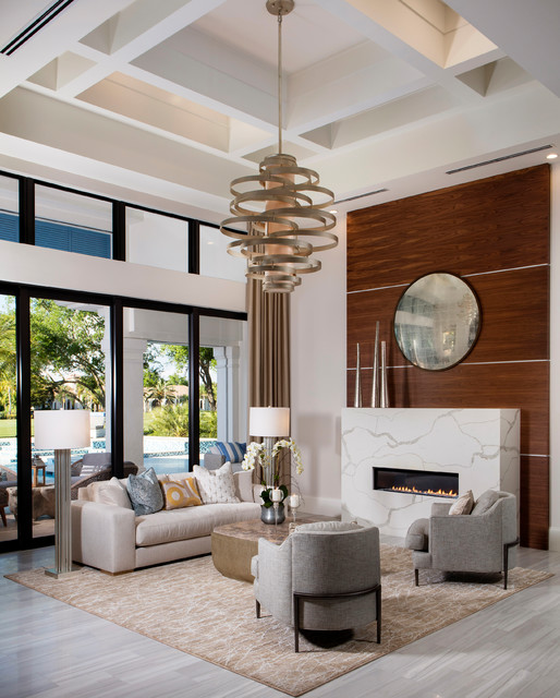 Luxury Homes In Naples Florida Mediterranean Living Room Other By Beasley Henley Interior Design