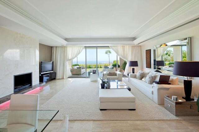 Luxury Houses - Contemporaneo - Soggiorno - Madrid - di Bernado. Luxury Houses