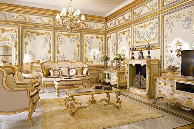 Luxury Italian Living By Gimo Classico Soggiorno Other Metro Di Exclusive Home Interiors
