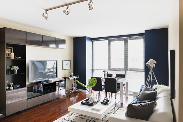 luxury loft contemporary 2 bedroom suite contemporary living room