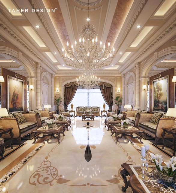 Luxury Mansion Interior Qatar