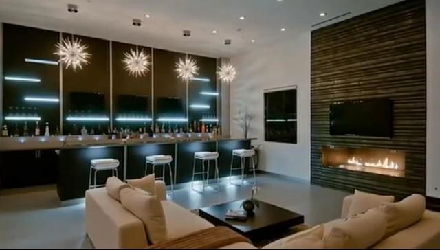 Luxury Modern House In Hollywood Hills Modern Wohnbereich Los Angeles Von Bauformat Houzz