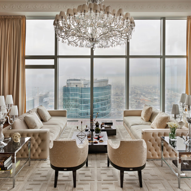 penthouse living room luxury penthouse contemporary living room new york 11025