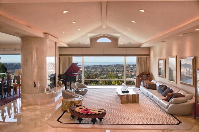 Luxury Villa contemporary-living-room