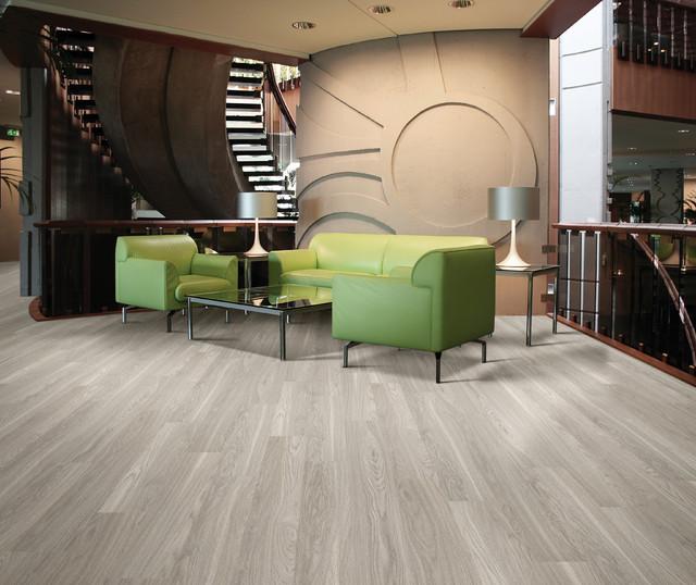 Luxury Vinyl Planks Contemporary Living Room Miami
