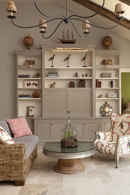 Lyme Hills mediterranean-living-room