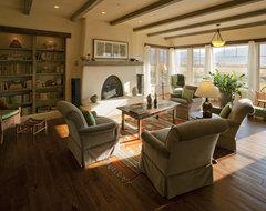 Lynne Barton Bier rustic-living-room