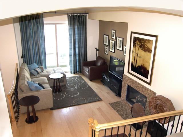 m.a.p. interiors contemporary-living-room