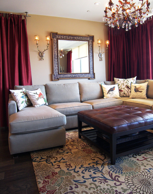 m.a.p.interiors traditional-living-room