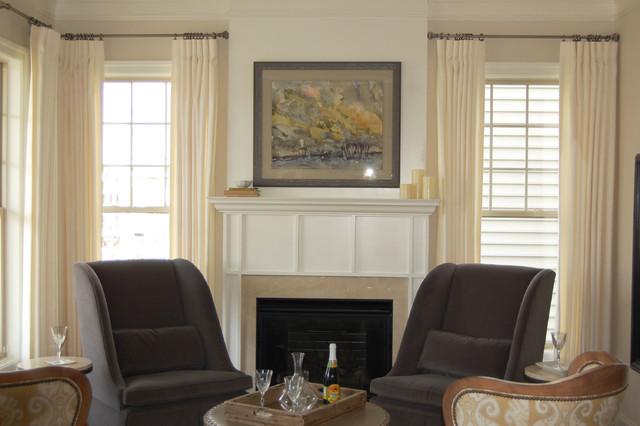 M/I Homes - Ashburn Place traditional-living-room