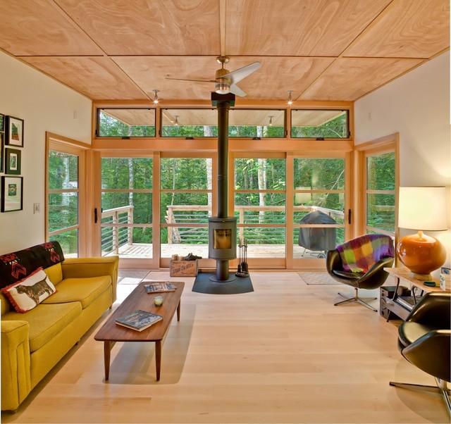 m2 [prefab] contemporary-living-room