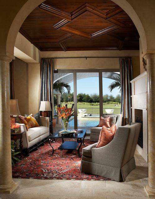 Mabelina mediterranean-living-room