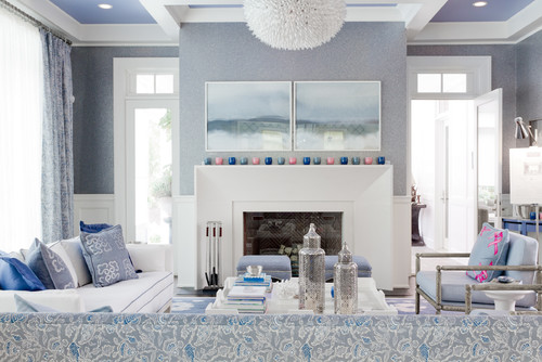 contemporary living room by new york photographers rikki snyder - Cool Colors For Living Room