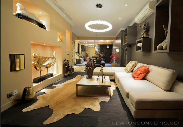 Macdonnell Rd. eclectic-living-room