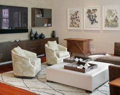 MacDougal Manor contemporary-living-room