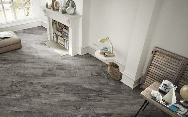 Maderia Porcelain Wood Tiles Iris Ceramica UK Suppliers Contemporary Living Room