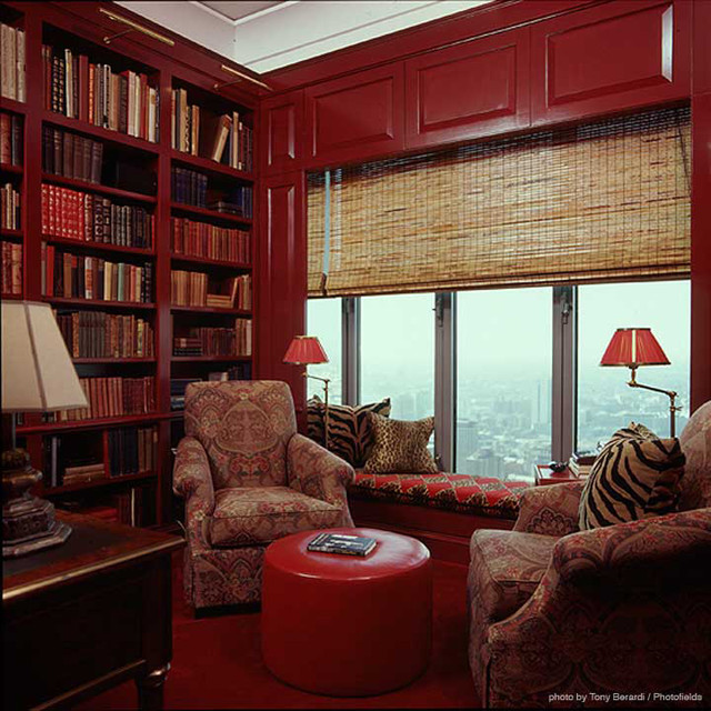 Magnificent Mile Penthouse traditional-living-room