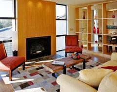 Magnolia Gardens contemporary-living-room