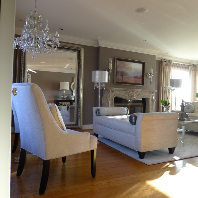 Houzz Living Rooms Traditional: Magnolia Living Room