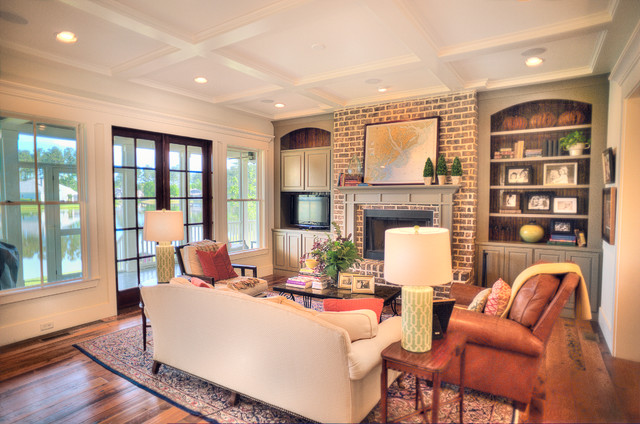 magnolia traditional living room charleston by