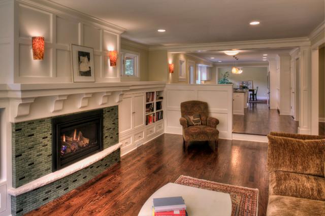 Mahtomedi Remodel Home living-room
