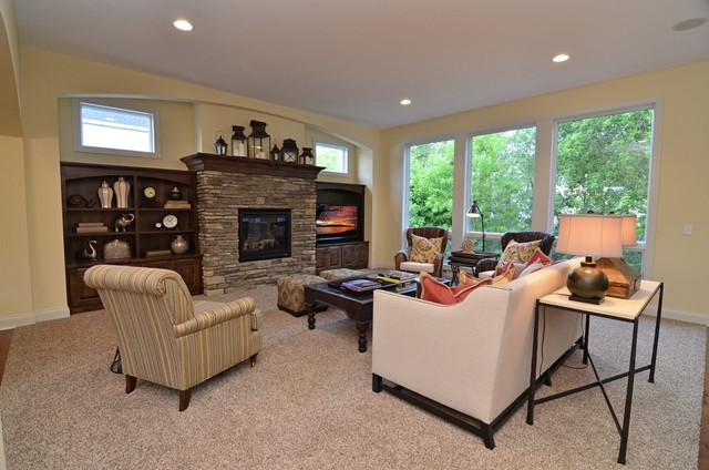 Main Floor Living Room traditional-living-room