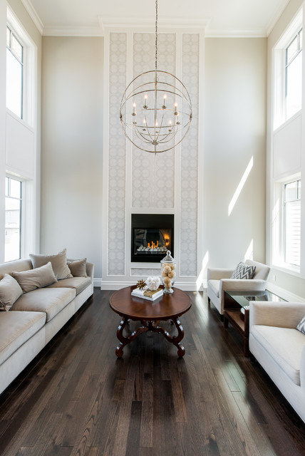 Maison Fine Homes Interior Design Traditional Living Room Other M