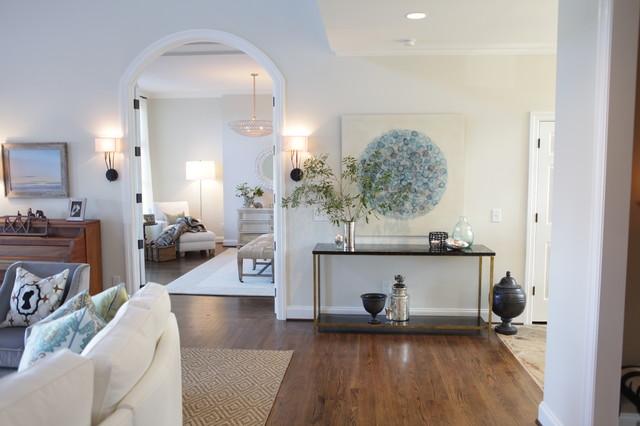 Makeover of an Estate contemporary-living-room