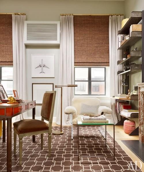 Making Short Windows Look Taller! Traditional Living Room