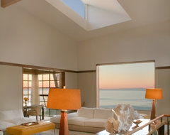Malibu Architectural contemporary-living-room