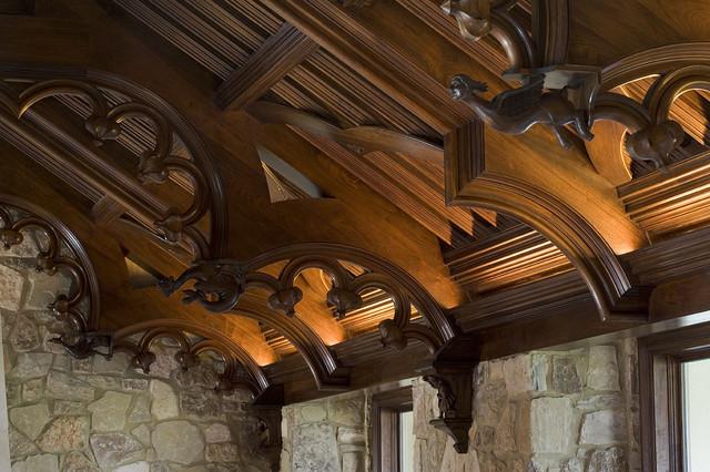 Malinard Manor - Living Room traditional-living-room