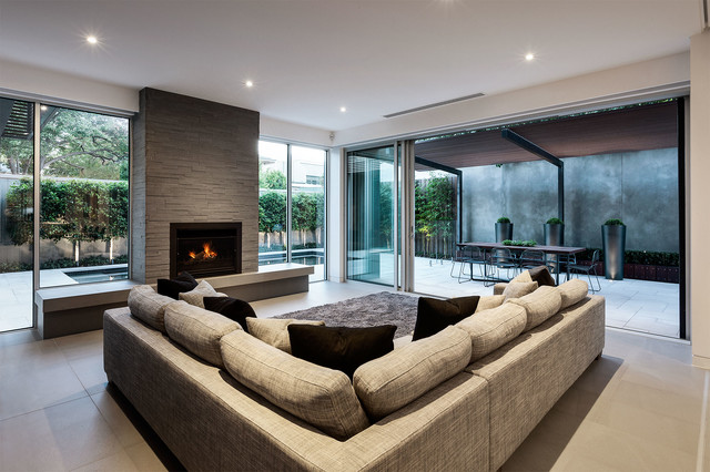 Malvern house melbourne australia for Living room ideas australia