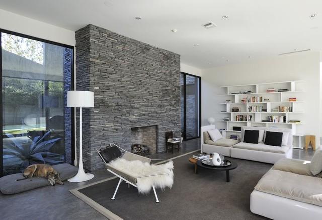 Mandel House modern-living-room