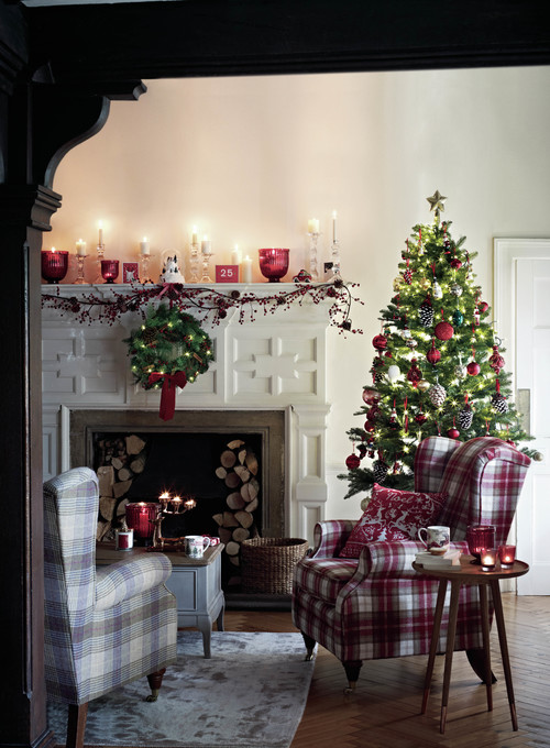 7 Christmas Mantel Ideas