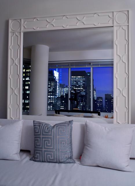 Manhattan Aerie contemporary-living-room