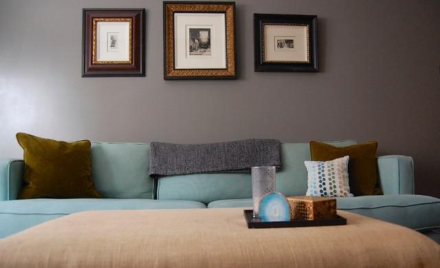 Manhattan Apartment transitional-living-room