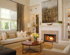 Manhattan Beach Sanctuary transitional-living-room