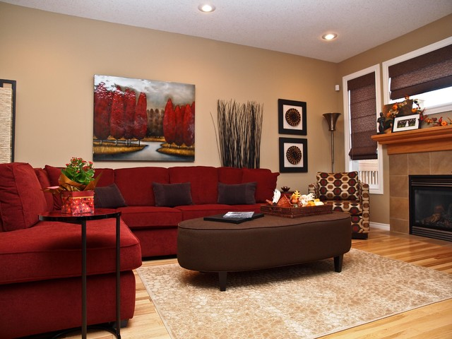 Ordinaire Manning Project AFTER Traditional Living Room