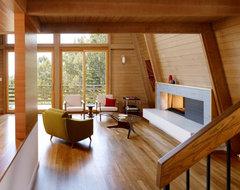 Manzanita Drive Addition & Remodel modern-living-room