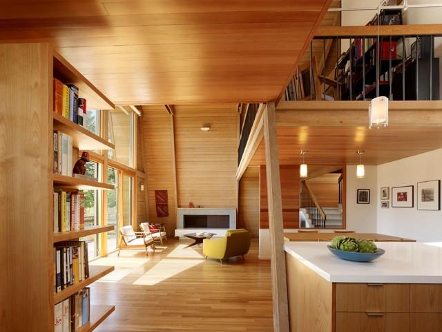 Manzanita Drive Living Room modern-living-room