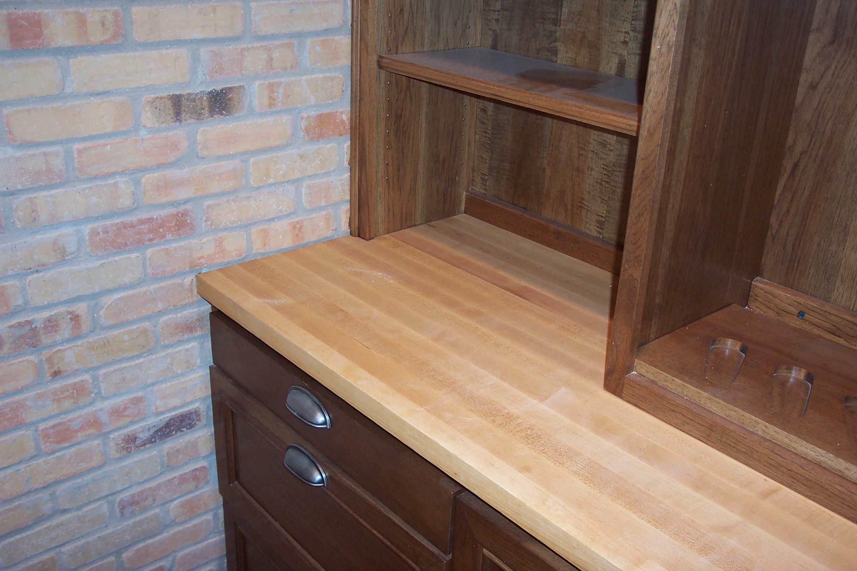Maple edge grain Counter Top
