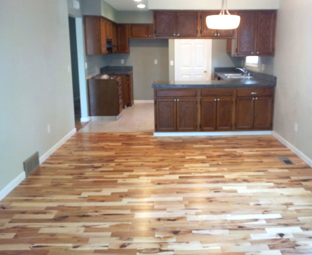 Maple Rustic Grade Flooring Living Room