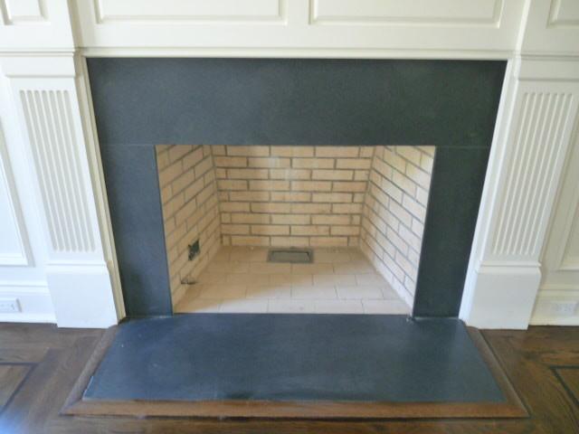 Black Granite Fireplace Surround Houzz, Black Granite Tile Fireplace Surround