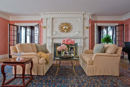 traditional living room uncategorized
