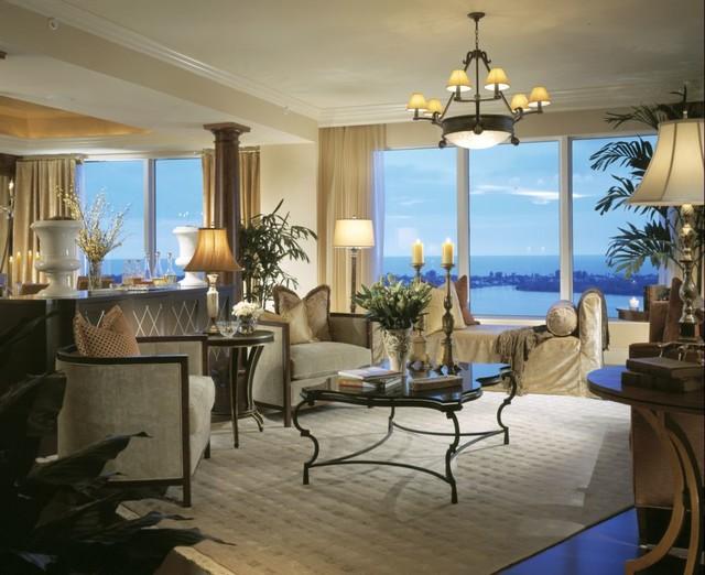 Marc-Michaels Interior Design traditional-living-room