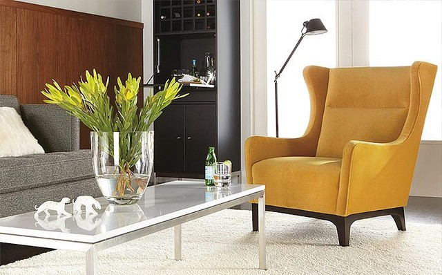 Marcel Accent Chair Room by R&B - Modern - Living Room ...