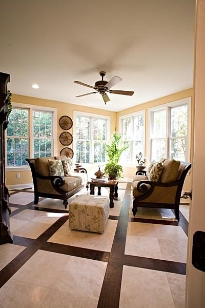 marcia designs tropical-living-room