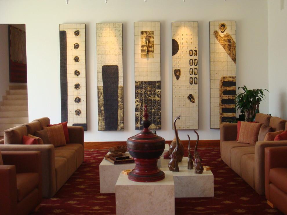 margarita Porraz - Eclectic - Living Room - Mexico City ...