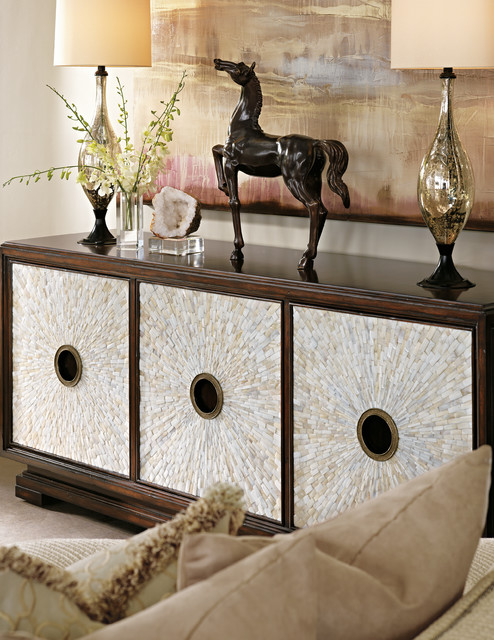 surprising modern living room credenza | Marge Carson - Sonoma Credenza - Contemporary - Living ...