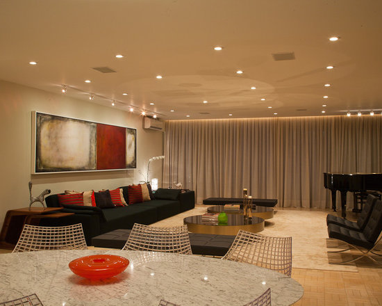 recessed lighting living room design ideas pictures remodel and